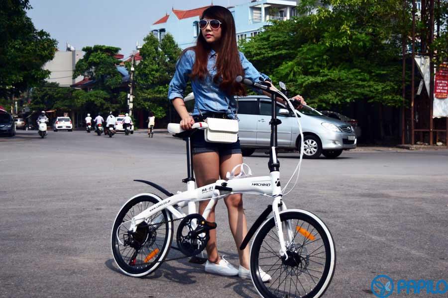 「xe đạp gấp hachiko」的圖片搜尋結果