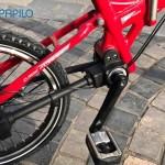 Xe đạp gấp không xích sẽ hoạt động ra sao?