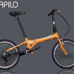 Xe đạp gấp Nhật Bản Maruishi 033TD (Trục Các-đăng)