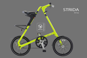 Strida evo 18 - folding cycle