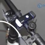 Phụ kiện xe đạp – Đèn pha siêu sáng Machfally (pin sạc)