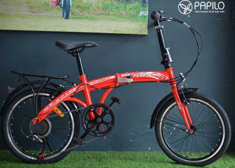 Xe đạp gấp cho học sinh – Xe đạp gấp Fornix 20 Prava