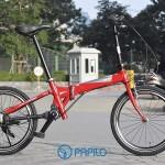 Giải mã sức hút của xe đạp gấp không xích Maruishi
