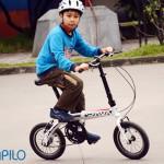 5 lợi ích tuyệt vời khi cho con đi xe đạp gấp tới trường