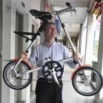 Phỏng vấn cha đẻ của mẫu thiết kế xe đạp gấp Strida (Anh Quốc)