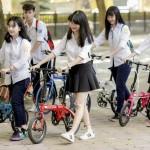 Hướng dẫn chọn xe đạp thể thao cho học sinh cấp 1, cấp 2 (độ tuổi 6-15)