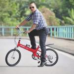 6 lý do nên thay thế xe máy bằng xe đạp gấp