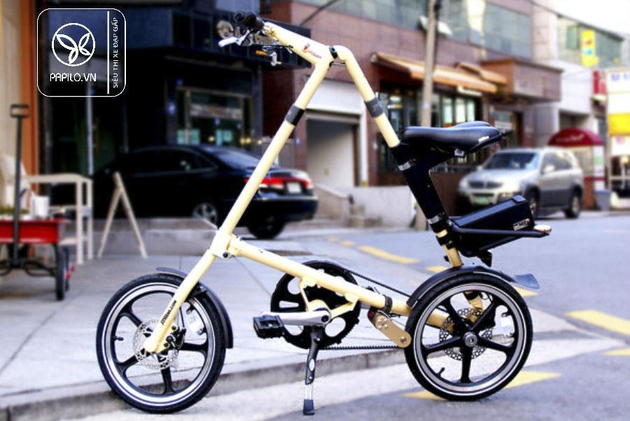xe đạp gấp strida