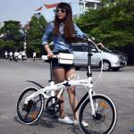 3 yếu tố chính tác động đến tốc độ xe đạp gấp