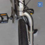 Xe đạp gấp bánh to nhưng chỉ có 1 phuộc