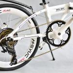 Truy tìm điểm khác biệt của 3 chiếc xe đạp gấp Nhật Bản: Hachiko HA01 vs HA03 vs HA04