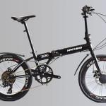 Xe đạp gấp Hachiko HA 04 – Xe đạp Nhật Bản tăng 30% hiệu suất