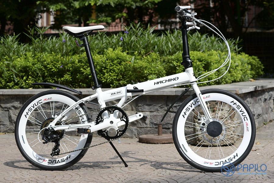 Xe đạp gấp Nhật Hachiko HA04