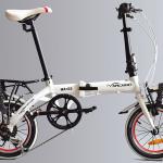 Xe đạp gấp Hachiko HA 03