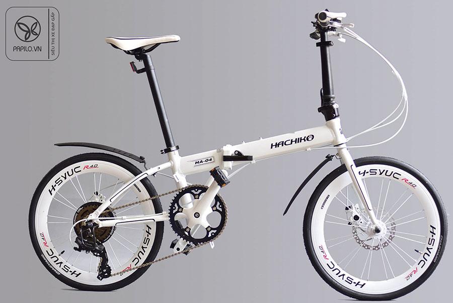 Xe đạp gấp Nhật Bản Hachiko HA 04