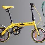 Nhân mùa tựu trường: Mua xe đạp gấp Hachiko tặng ngay Balo