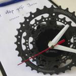 Đồng Hồ bằng líp xe – món quà độc đáo cho khách hàng khi mua xe đạp gấp Java