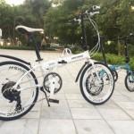 Xe đạp gấp Hachiko HA 04 – giải tỏa stress sau ngày dài mệt mỏi