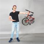 Xe đạp gấp chỉ là 1 trong 8 mẫu xe đạp kỳ lạ nhất thế giới dưới đây