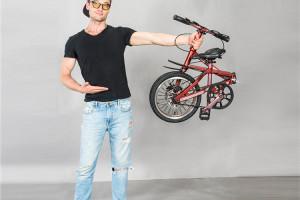 Jaunty carbon folding bike
