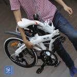 Chống trộm xe đạp gấp bằng cách nào?