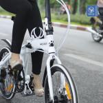Giảm cân bất thành cho đến khi biết xe đạp gấp Hachiko HA 01