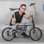 Xe đạp gấp carbon JAUNTY – siêu nhẹ (7.6kg)