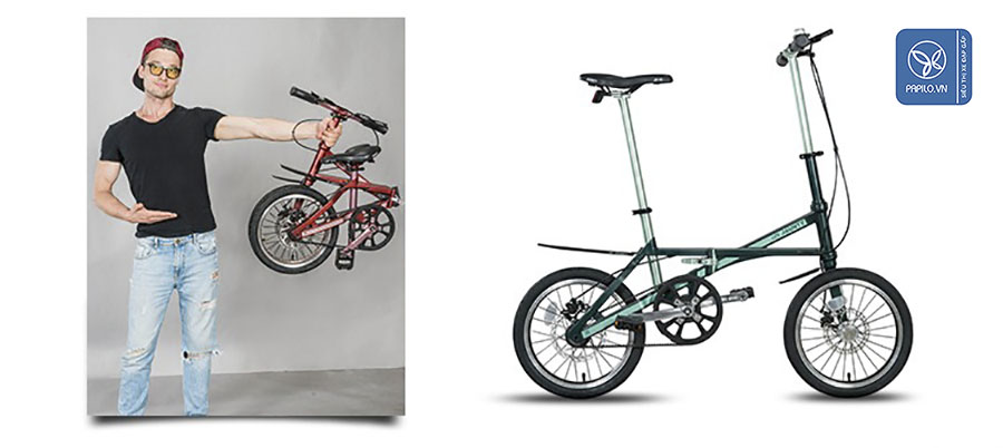 www.123nhanh.com: Mua xe đạp gấp cho con, cả gia đình đều đi được