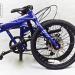 Tại sao xe đạp gấp khung nhôm tốt hơn khung thép?