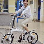 Cai nghiện Smartphone cho con bằng xe đạp gấp
