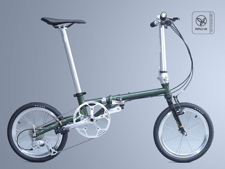 Xe đạp gấp siêu nhẹ Fnhon Gust giải pháp cho tình trạng tắc đường