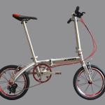 Xe đạp gấp KABN – chất lượng trên từng con ốc