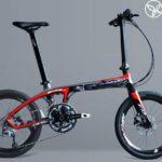 Xe đạp gấp khung carbon hiện đại nhất của Đức: Sava Z1 20s