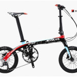 Xe đạp gấp Sava 16inch – khung carbon