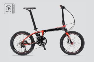 Xe đạp gấp Sava Carbon siêu nhẹ của Đức