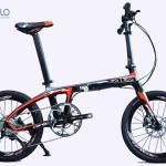 Xe đạp gấp carbon siêu nhẹ – Sava 9S