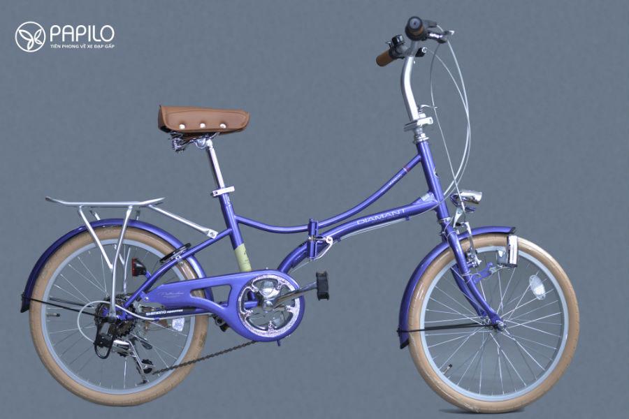 xe đạp gấp nhật bản - diamant