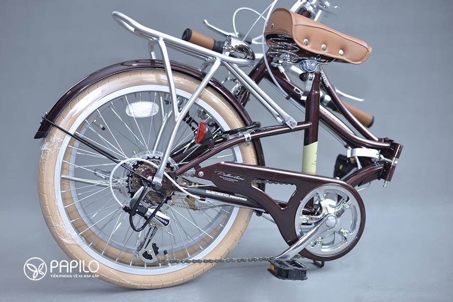 xe đạp gấp giá bao nhiêu