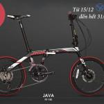 [Từ 15/12 – 31/12/2017] Giảm 2 triệu khi mua xe đạp gấp Java Fit 18s