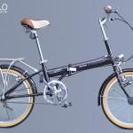 Xe đạp gấp Nhật Bản – Diamant M240