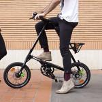 Theo chân xe đạp gấp Anh Quốc thư giãn trên phố Việt
