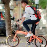 Những bài học vô giá cho cuộc sống từ chiếc xe đạp gấp