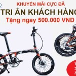 Tặng 500.000 khi mua xe đạp gấp Rifle Z4, Sava Carbon 16″, 20″