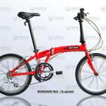 Xe đạp gấp Nhật Bản Marushi 063 – Nhanh, Bền, Khỏe