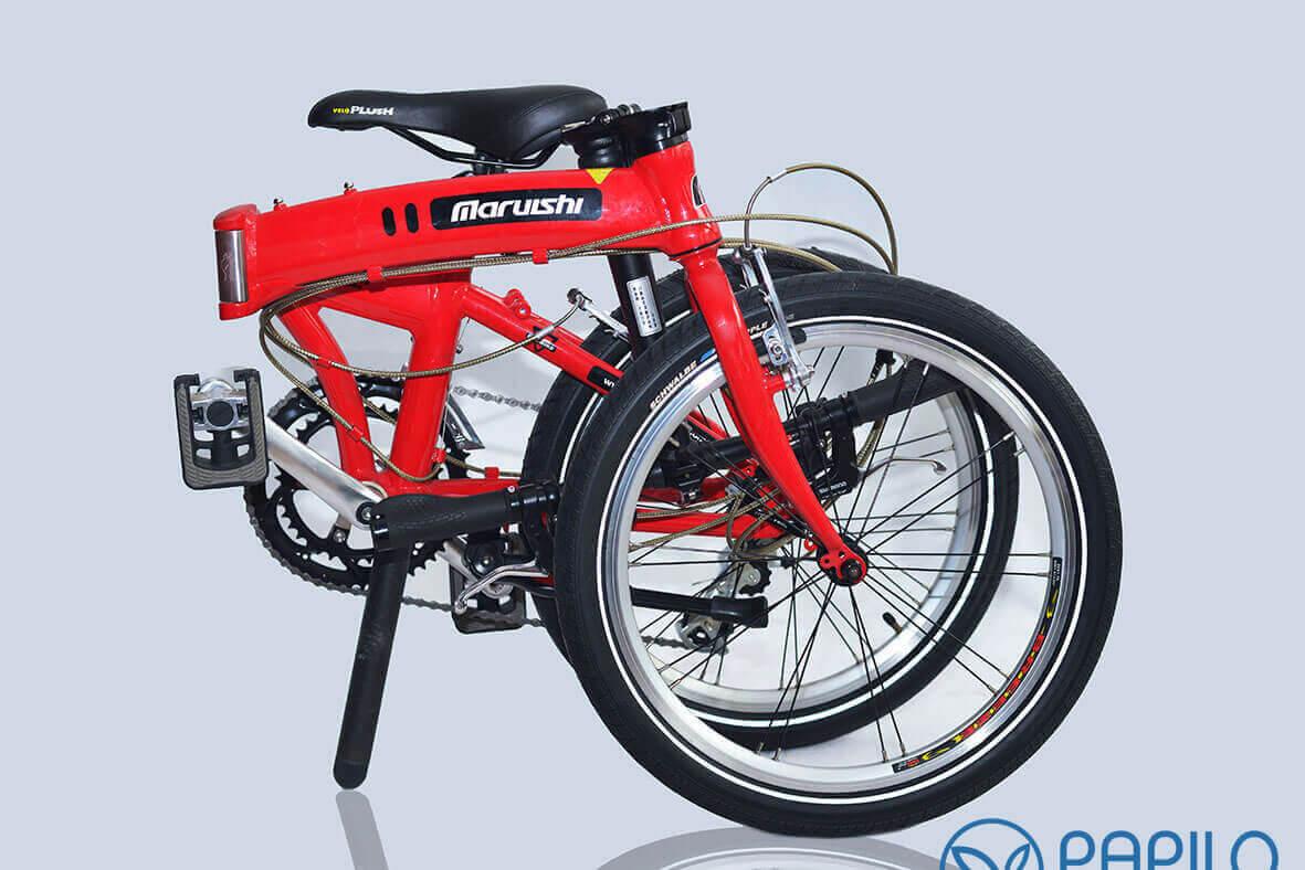 Xe đạp gấp xứ sở hoa anh đào - Maruishi 063