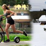 Siêu xe đạp gấp thể thao – xe đạp tay ga