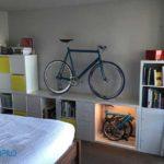 Độc đáo muôn kiểu cất trữ và trang trí nhà bằng xe đạp gấp