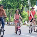 Vì sao nên cho con tự đi xe đạp từ sớm?