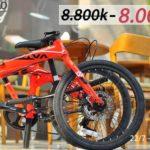 Thông báo khuyến mãi giảm giá xe đạp gấp Java TT