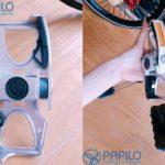 Hàng đẳng cấp tặng quà chất: Tặng pedal VP Flip cho xe đạp gấp Sava, Strida EVO